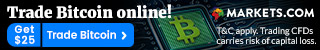 Markets.com Forex top banner